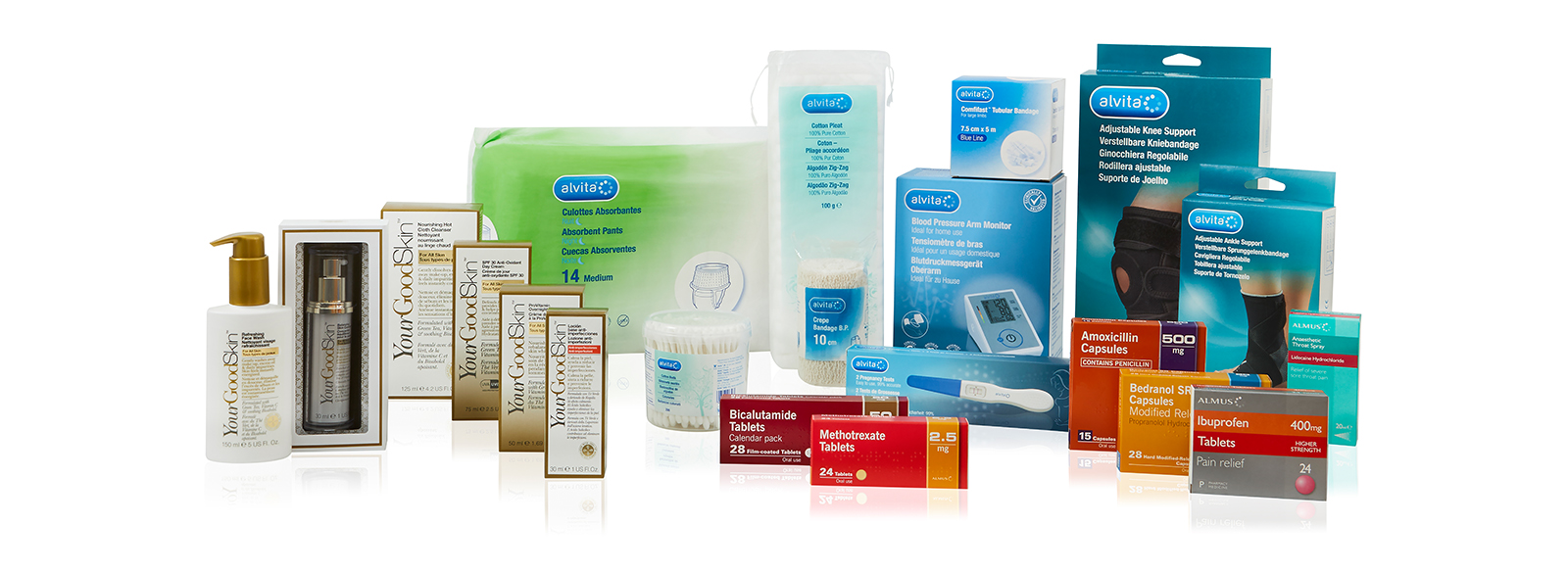 Our exclusive, Pharmacy-only products